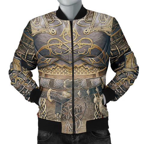 1sticeland Bomber Jacket for Men, Kratos Armor All Over Print TH00 - 1st Iceland