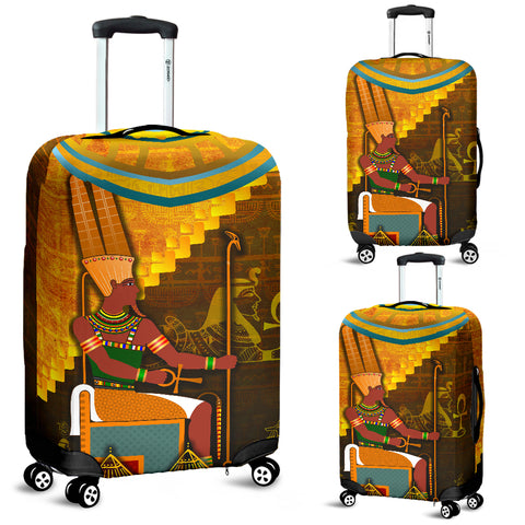 1stIceland Amun Luggage Covers Egyptian God K8 - 1st Iceland