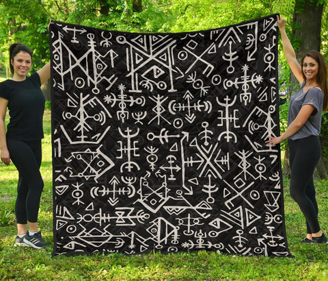 1stIceland Viking Premium Quilt, Futhark Norse A79 - 1st Iceland