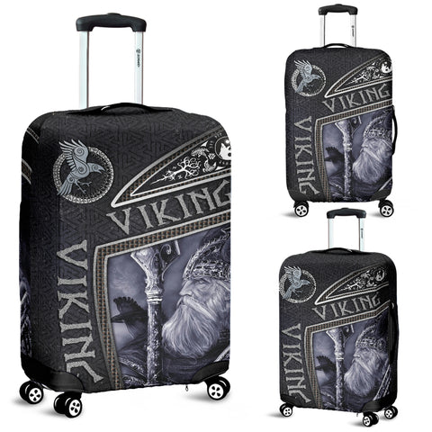 1st Iceland Viking God Metal Luggage Covers TH12 - 1st Iceland
