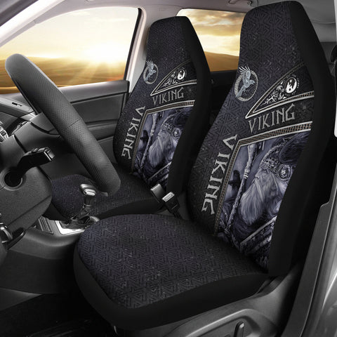 1st Iceland Viking God Metal Car Seat Covers TH12 - 1st Iceland