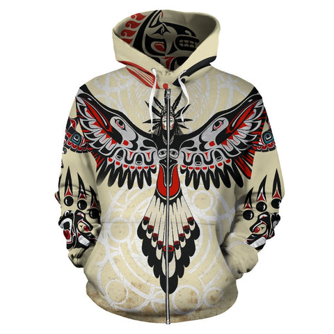 Image of Native American Special Version Zip Up Hoodie K7 - 1st Iceland