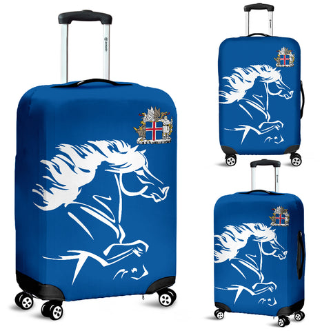 Image of 1stIceland Luggage Covers, Icelandic Horse Coat Of Arms K4 - 1st Iceland