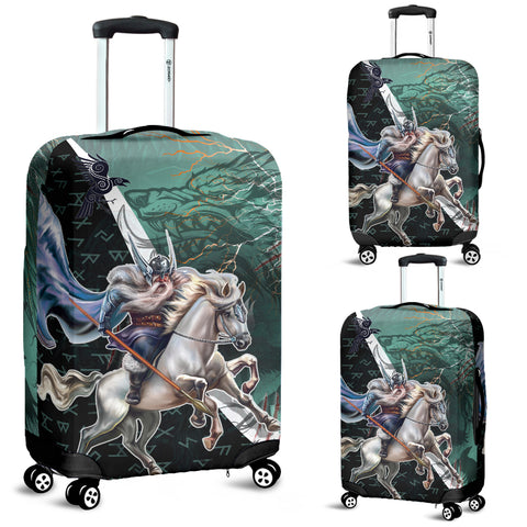 The Viking Runes Luggage Covers Odin And Sleipnir K13 - 1st Iceland