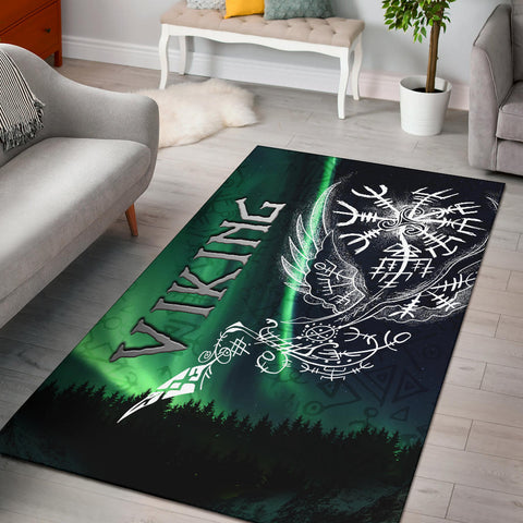 1stIceland Viking Area Rug Northern Lights