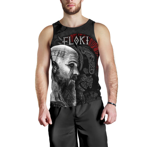 Image of 1stIceland Viking Floki Men's Tank Top TH12 - 1st Iceland