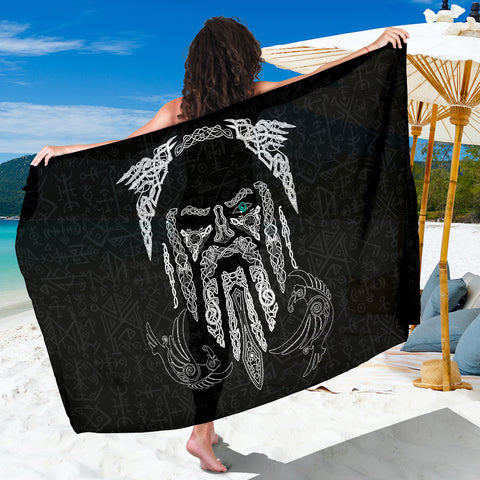 1stIceland Viking Sarong, Odin's Eye with Raven K4 - 1st Iceland