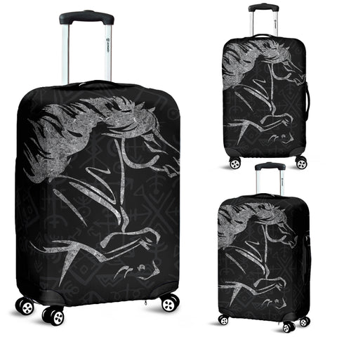 Image of 1stIceland Viking Luggage Covers, Icelandic Horse Coat Of Arms K4 - 1st Iceland