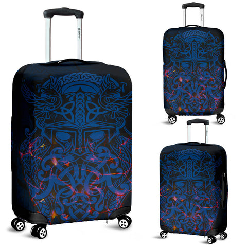 Image of Vikings Luggage Covers, Odin The All Father Th00 - 1st Iceland