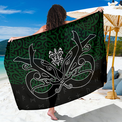 1stIceland Sarong, Celtics Dragon Tattoo Th00 - 1st Iceland