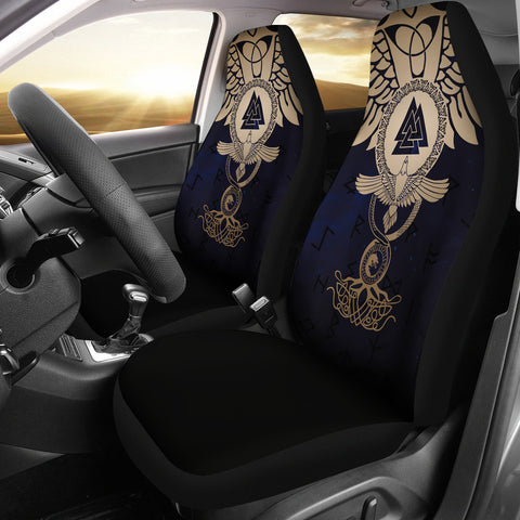 1stIceland Viking Car Seat Covers, Wolf Celtic Galaxy J1 - 1st Iceland