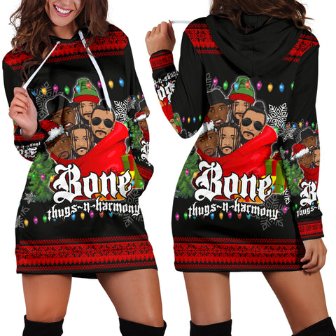 Bone Thugs-N-Harmony Women's Hoodie Dress Christmas TH4 - 1st Iceland