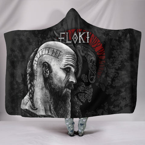 1stIceland Viking Floki Hooded Blanket TH12 - 1st Iceland