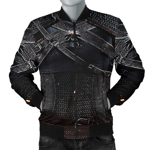 Image of 1stIceland Bomber Jacket for Men's, 3D Witcher Armor TH00 - 1st Iceland