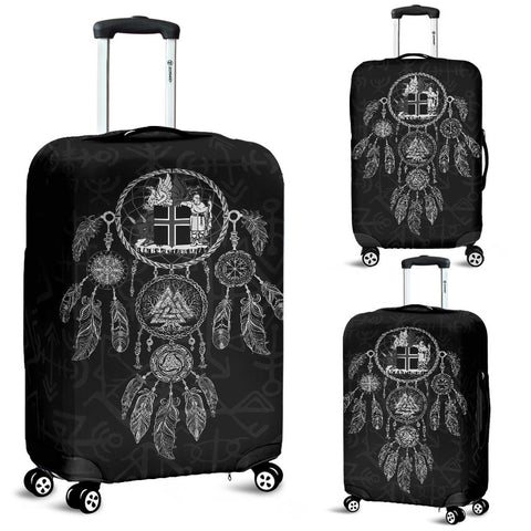 1stIceland Viking Luggage Cover, Dreamcatcher Iceland Coat Of Arms K4 - 1st Iceland