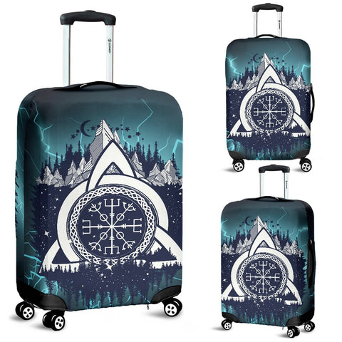 1stIceland Viking Luggage Cover, Helm Of Awe Celtic Knot A2 - 1st Iceland