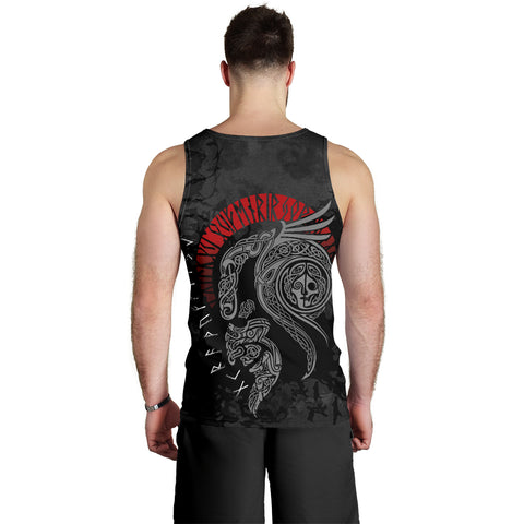 1stIceland Viking Floki Men's Tank Top TH12 - 1st Iceland