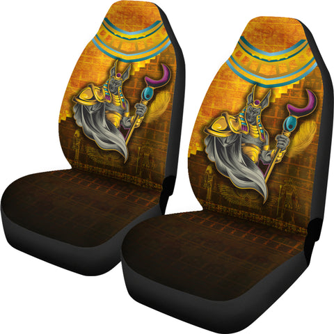 1stIceland Anubis Car Seat Covers Egyptian God K8 - 1st Iceland