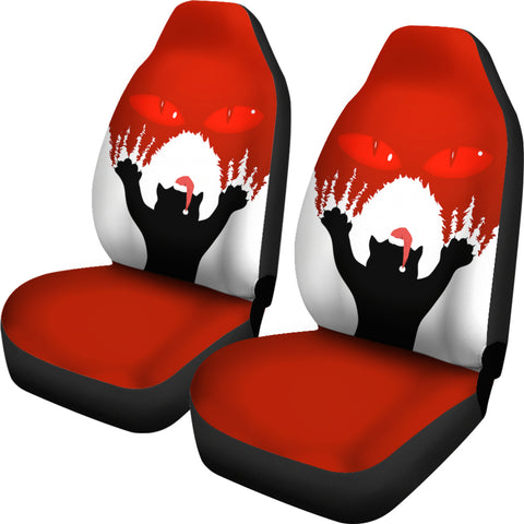 1stIceland Gleðileg Jól Car Seat Covers, Yule Cat 02 - 1st Iceland