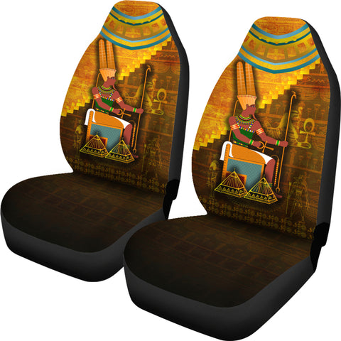 1stIceland Amun Car Seat Covers Egyptian God K8 - 1st Iceland