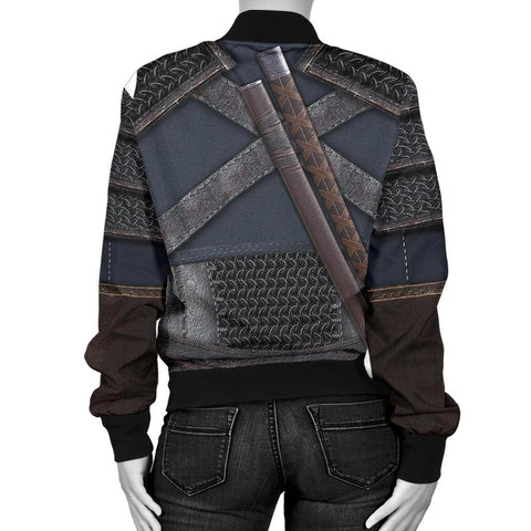 1sticeland Bomber Jacket for Women, New Witcher Armor TH00 - 1st Iceland