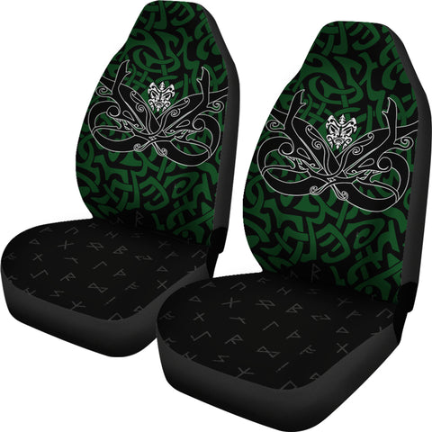 1stIceland Car Seat Covers, Celtics Dragon Tattoo Th00 - 1st Iceland