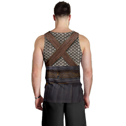 Image of 1stIceland Men Tank Top, 3D Assassin Creed Odyssey Armour - 1st Iceland