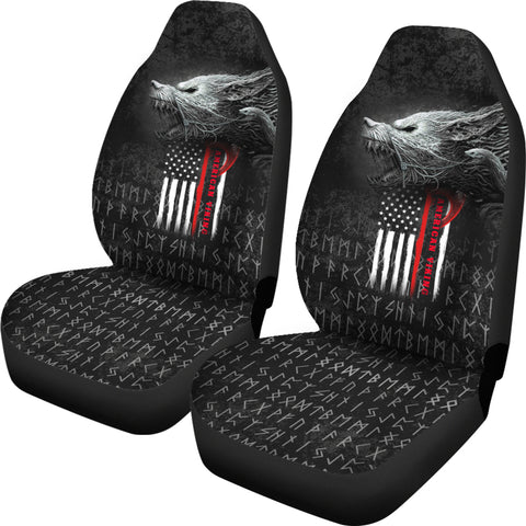 1stIceland American Viking Fenrir Car Seat Covers TH12 - 1st Iceland