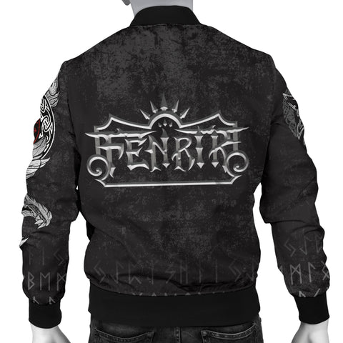 1stIceland American Viking Fenrir Men Bomber Jacket TH12 - 1st Iceland