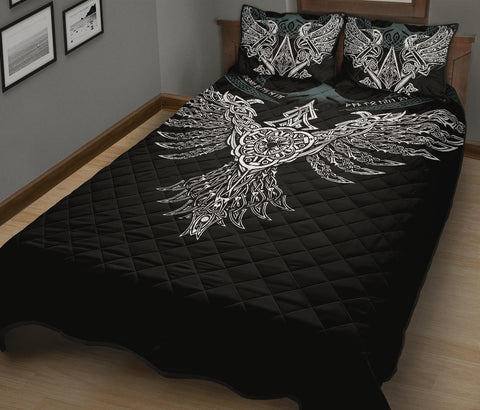 Image of 1stIceland Viking Quilt Bed Set, Raven Th00 - 1st Iceland