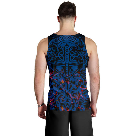 Vikings Men Tank Top, Odin The All Father Th00 - 1st Iceland