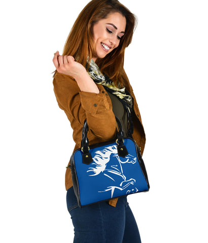 1stIceland Shoulder Handbag, Icelandic Horse Coat Of Arms K4 - 1st Iceland