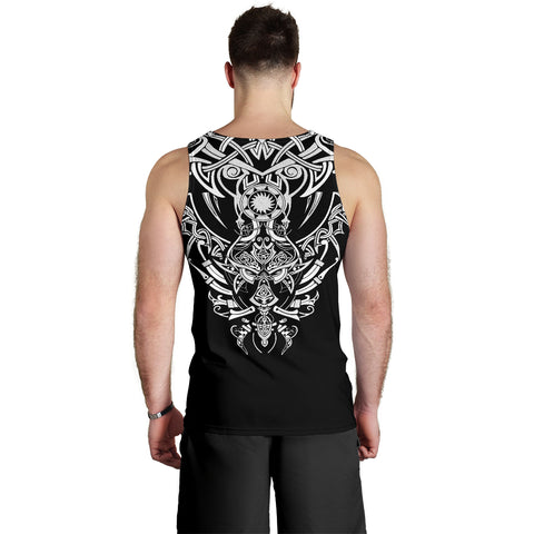 1stIceland Geki & Freki Viking Wolf Men's Tank Top TH12 - 1st Iceland