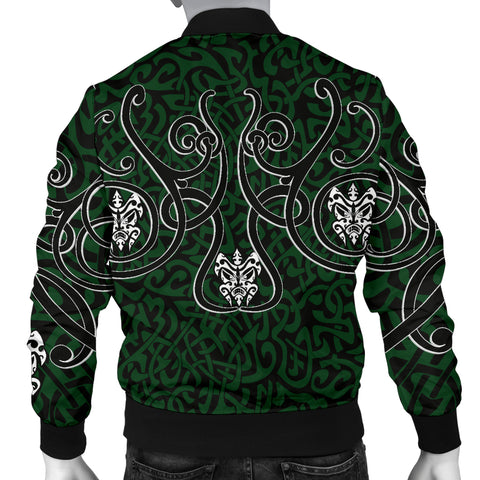 1stIceland Bomber Jacket for Men, Celtics Dragon Tattoo Th00 - 1st Iceland
