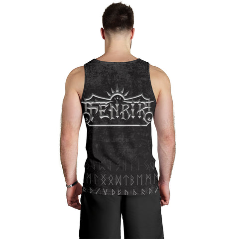 1stIceland American Viking Fenrir Men Tank Top TH12 - 1st Iceland