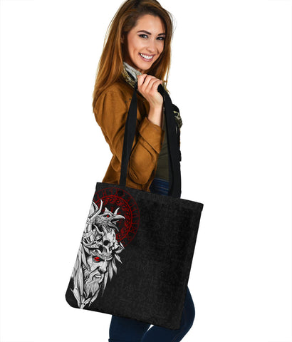 Image of 1stIceland Viking Odin And Raven Tote Bag TH12 - 1st Iceland