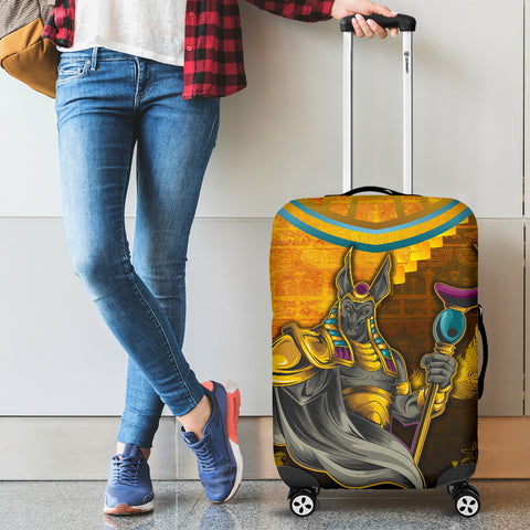 Image of 1stIceland Anubis Luggage Covers Egyptian God K8 - 1st Iceland