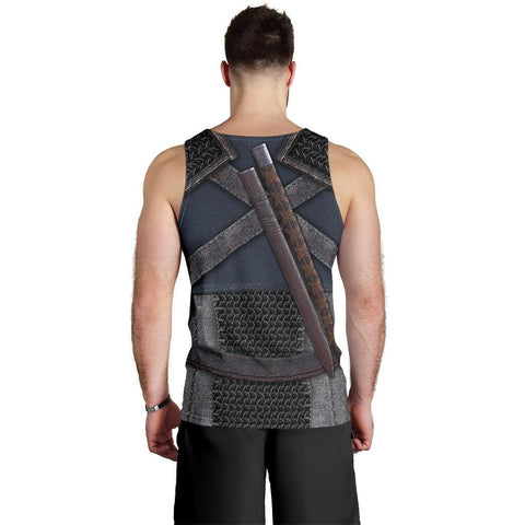 1sticeland Men's Tank Top, New Witcher Armor TH00 - 1st Iceland