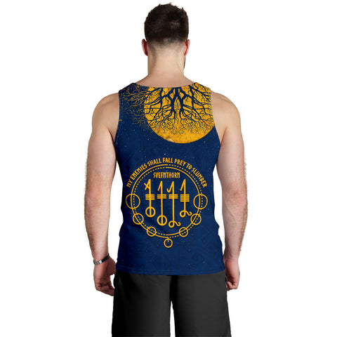 1stIceland Viking Svefnthorn Men Tank Top, Raven The Moonlight K13 - 1st Iceland