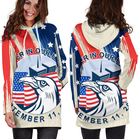Image of 1stIceland American Firefighters Sacrifice 9.11.01 Women Hoodie Dress K8 - 1st Iceland