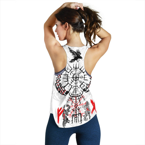 Image of 1stIceland Viking Women's Racerback Tank Drakkar TH12 - 1st Iceland