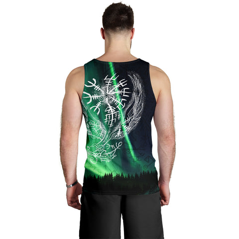 1stIceland Viking Men's Tank Top Northern Lights TH12 - 1st Iceland
