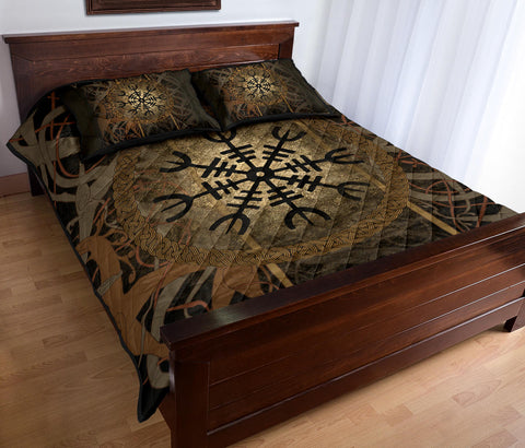 1stIceland Viking Quilt Bed Set, Helm of Awe K5 - 1st Iceland
