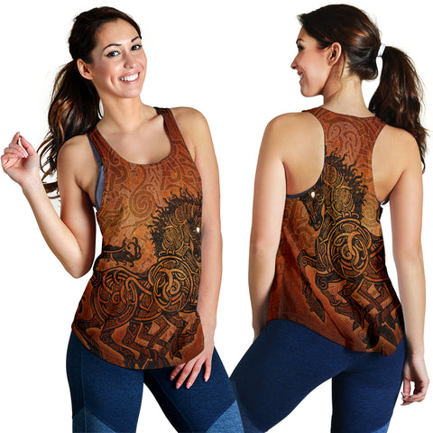 Image of 1stIceland Viking Sleipnir Women's Racerback Tank TH4 - 1st Iceland