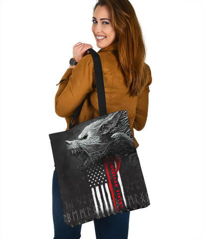 Image of 1stIceland American Viking Fenrir Tote Bag TH12 - 1st Iceland