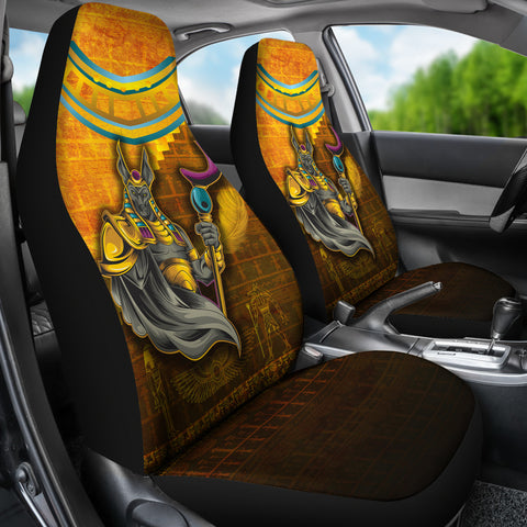 Image of 1stIceland Anubis Car Seat Covers Egyptian God K8 - 1st Iceland