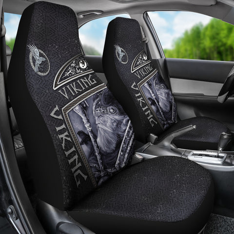 Image of 1st Iceland Viking God Metal Car Seat Covers TH12 - 1st Iceland