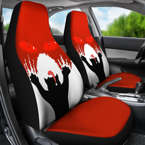 Image of 1stIceland Gleðileg Jól Car Seat Covers, Yule Cat 02 - 1st Iceland
