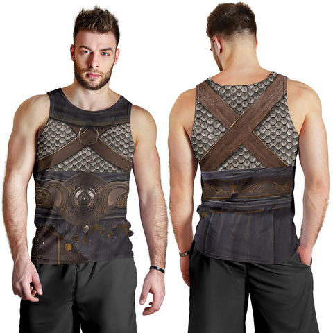 1stIceland Men Tank Top, 3D Assassin Creed Odyssey Armour - 1st Iceland