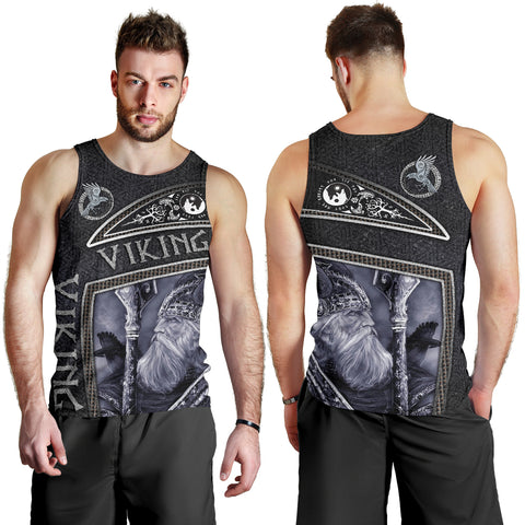 Image of 1stIceland Viking God Metal Men's Tank Top TH12 - 1st Iceland